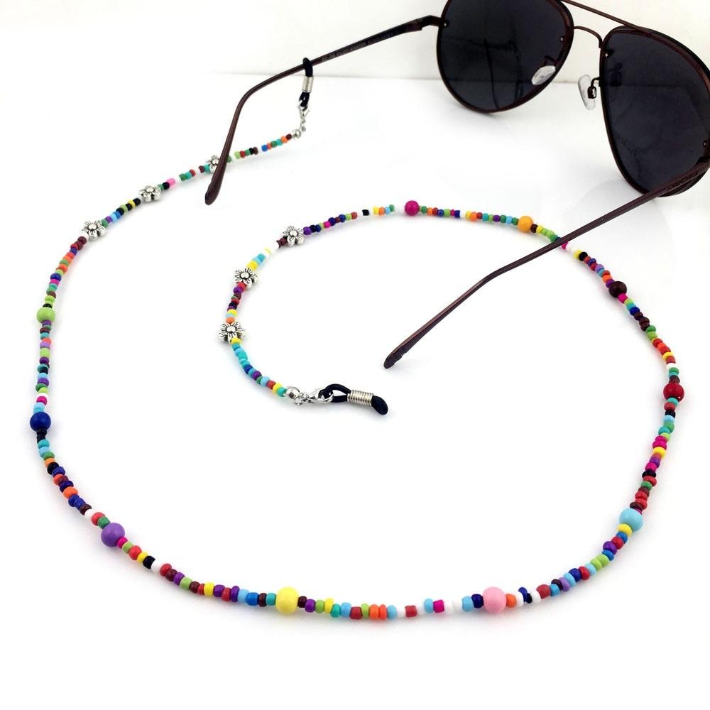 Vazrobe Sunglasses Chain Colorful Glasses Strap Accessories 70cm 2 Pcs/lot