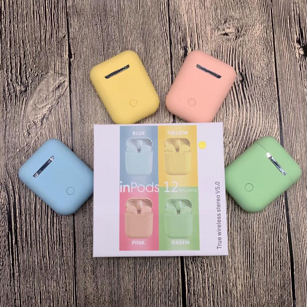 Inpods 12 écouteurs i7s i9s i11 i12 Tws sans fil Bluetooth écouteurs casque livraison directe