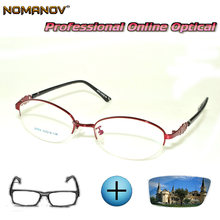 Выполненные на заказ очки по рецепту оптические фотохромные