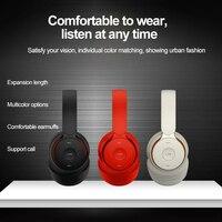 Wireless Headset Subwoofer Stereo Kopfhörer Noise Cancelling Hedset Komfort Tragen Sport Headset Für Computer Lange Standby