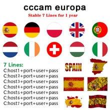Cabo europa ccam clines para receptor de tv por satélite 6/7 linhas wifi hd completo DVB-S2