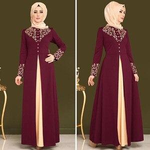 Женское платье в мусульманском стиле, вечернее платье в арабском стиле, в турецком и марокканском стиле