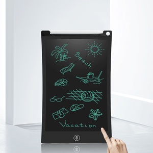 drawing tablet with pen stylus 10 inch lcd writing tablet digital drawing Paperless Handwriting Pad thin Kids Writing Board Gift(China)