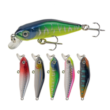 Small Minnow Floating-Bait 6cm/4.5g Wobbler Fishing-Lure Artificial-Fish-Tackle-Pesca
