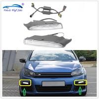 For VW Golf 6 MK6 R20 2009 2010 2011 2012 2013 Car Styling Car LED Light New LED DRL Daytime Running Light