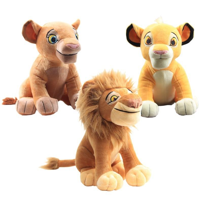 Lion King Simba Nana Plush Toys Doll Cartoon Anime Animal Stuffed Peluche Brinquedos Juguetes Toys for Children Stitch Elf