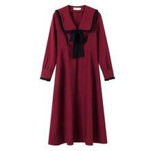 Женское шифоновое платье в стиле ретро элегантное однотонное