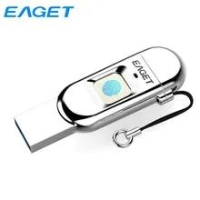 Pendrive Fingerprint Phone Encrypted Type-C Eaget 32GB 64GB OTG 128GB for Laptop Laptop