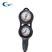 YONSUB Professtional SCUBA diving 2 Gauge Diving pressure gauge depth compass digital