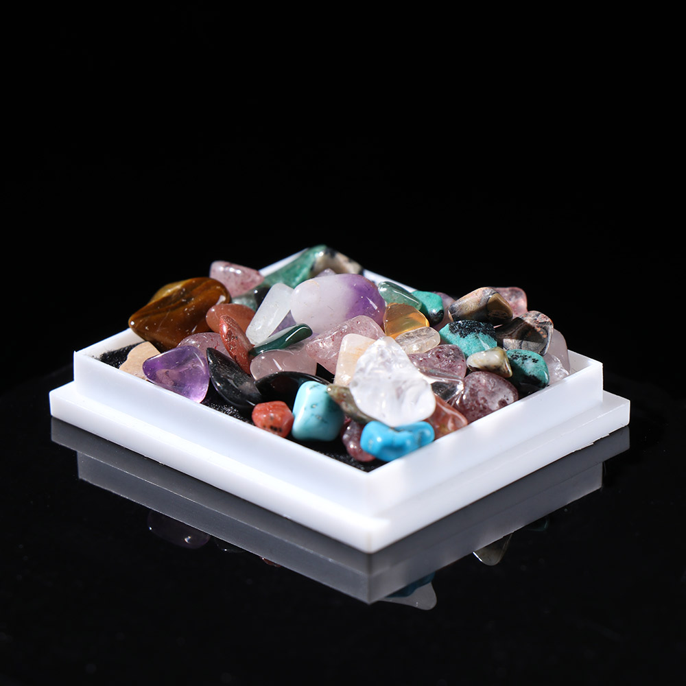 1 Box-packed Natural Rough Ore Raw Gemstone Quartz Crystal Mineral Specimen Energy Stones Collectible Jewelry Making Home Decor(China)