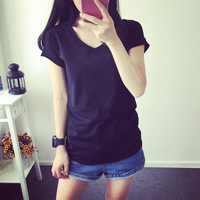 MA1 Women T Shirt Pocket cat Top Tee casual Short sleeve Tops women plus size Women U929