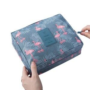 Multifunction travel Cosmetic Bag Neceser Women waterproof Cosmetic MakeUp bag travel organizer for toiletries toiletry kit