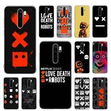 Silicone Case for Xiaomi Redmi Note 7 8 9 Pro Max 8T 9S 6 6A 7A 8A K20 K30 Pro Cover Shell Coque Love Death & Robots silicone case for xiaomi redmi note 7 8 9 pro max 8t 9s 6 6a 7a 8a k20 k30 pro cover shell coque love death