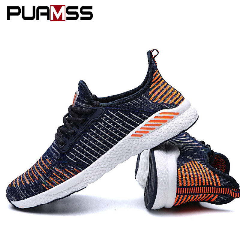 Summer Men Shoes Lac up Mesh Men Casual Shoes Lightweight Comfortable Breathable Couple Walking Sneakers Feminino