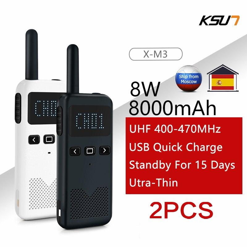 2 шт. рация KSUN KSM3 Civil Kilometer Высокая мощность Интерком Открытый Ручной Мини Радио рация