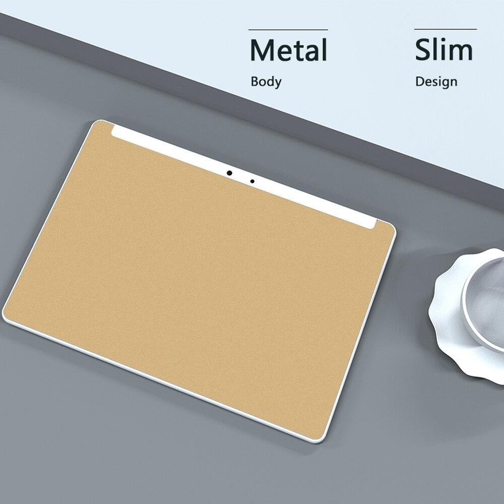 כיריים שניי להבות ANRY 10 אינץ Tablet Android 7.0 64 GB אחסון אוקטה Core processo צג IPS HD Wi-Fi Bluetooth שחור / זהב / כסף 4G התקשר לטלפון (3)