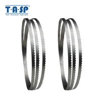 TASP 2pcs 56'' x 1/4'' Band Saw Blade 1425 x 6.35 x 0.35mm Bandsaw Blades Woodworking Tools for Wood Cutting for Draper Nutool Saw Blades     -