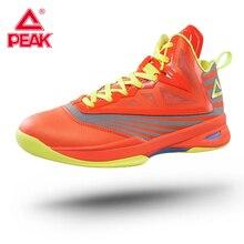 PEAK Men's Soaring II Basketball Shoes Outdoor Anti-slip Hig
