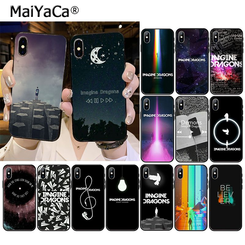 MaiYaCa imagine dragons night music Phone Accessories Case for iPhone 11 Pro XS MAX XS XR 8 7 6 Plus 5 5S SE