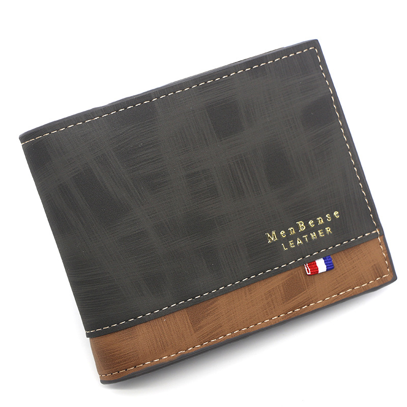 Mens Soft Leather Luxury Wallet Credit Card Holder Purse Brown ID Window