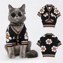 Одежда для кошки костюм собаки зимний свитер куртка Сфинкс французский
