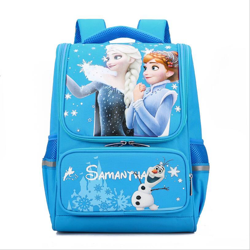 Children Primary School Bags For Girl Kids Waterproof Backpacks England Style School Backpack Girls Satchel Orthopedic Schoolbag