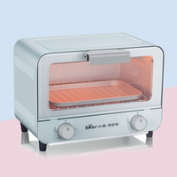 Electric oven Nordic wind household baking multi functional automatic Mini 9L conveyor pizza ovens