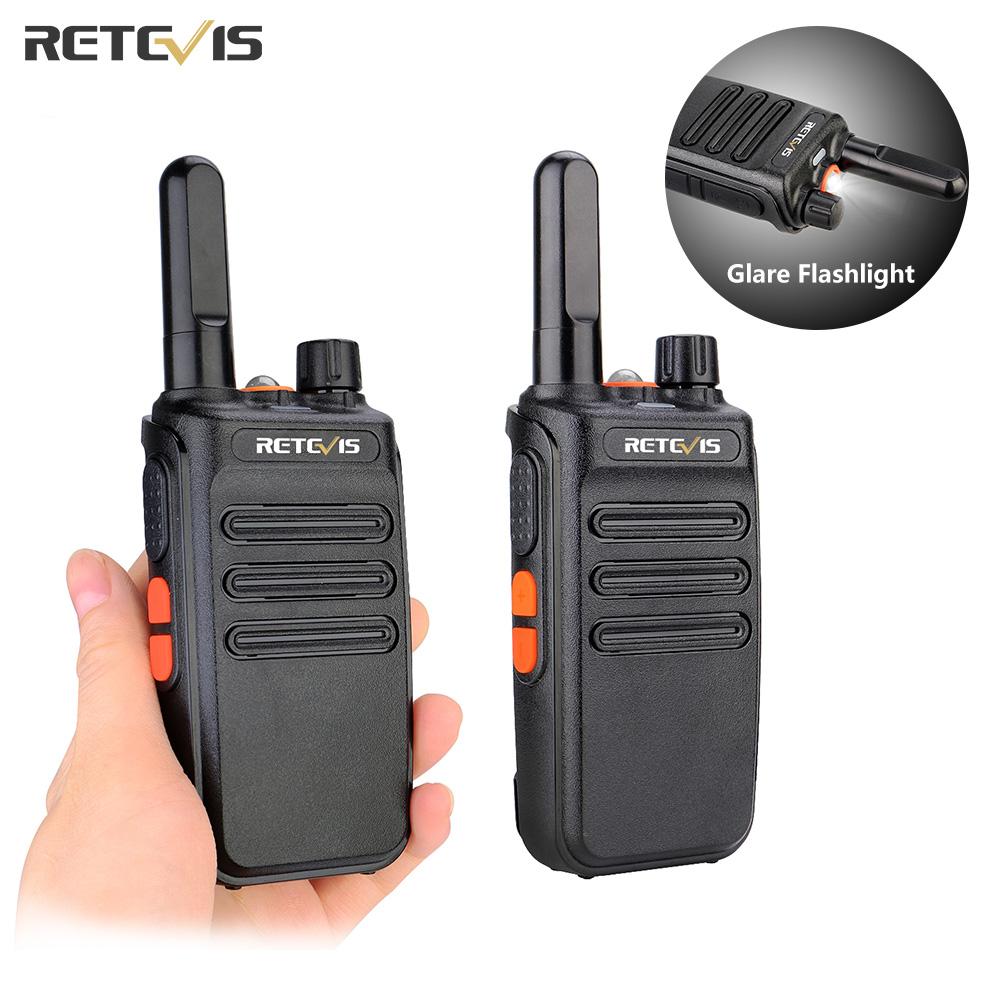 RETEVIS PMR Walkie-Talkie 2 pcs Walkie Talkie professional PMR446 FRS Two-way Radio business talkie walkie for hunting RB635 PMR
