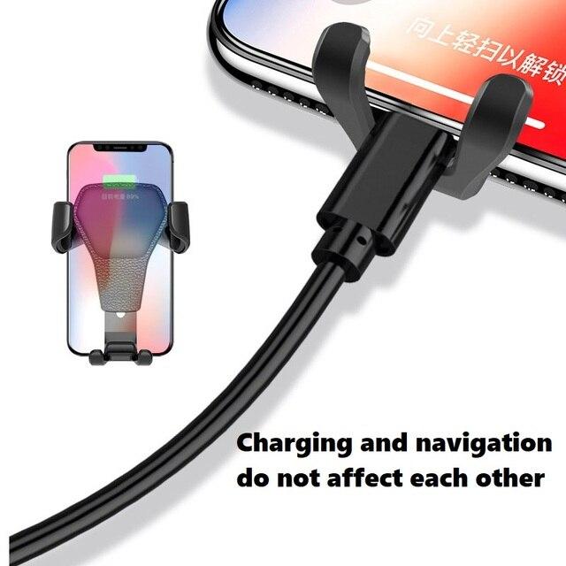 Support pour téléphone de voiture à gravité DUSH support pour téléphone support pour téléphone support de support pour Samsung iPhone