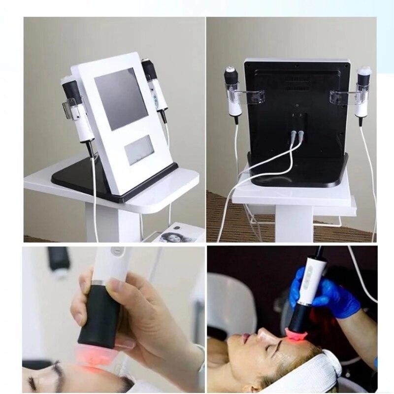 Machine faciale portative d'oxygène exfolient l'oxyge électrique de rf