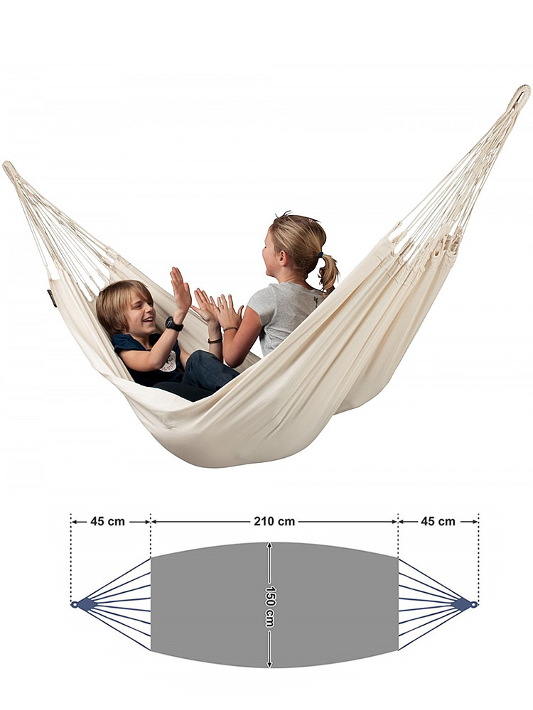 Swing-Bed Hammock Hanging Patio Double-Hammock Camping Canvas Travel Hiking for Fabric