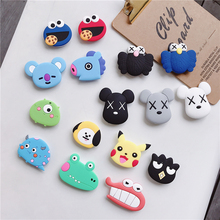 Wholesale cute anime cartoon airbag mobile phone bracket finger clip extension universal ring