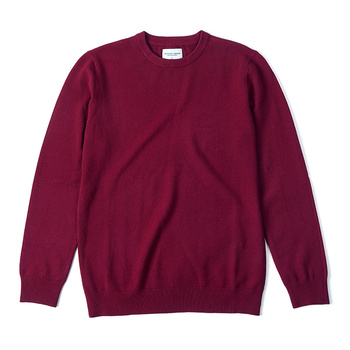 KUEGOU Autumn winter clothing  Solid color Men's sweater stretch Couple pullovers fashion warm sweaters top plus size YYZ-2209 8