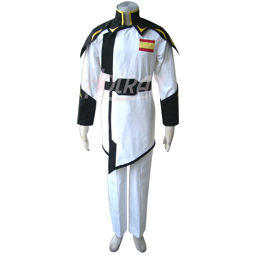 2019 New Arrival GUNDAM Seed Cosplay Costume Cos ZAFT White Captain Suit Carnival Whole Sets