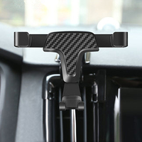 Gravity For Volvo S90/V90 2017 2019 Bracket Auto Dashboard Air Vent Stand Clip Mount with Aromatherapy Car Cell Phone Holder
