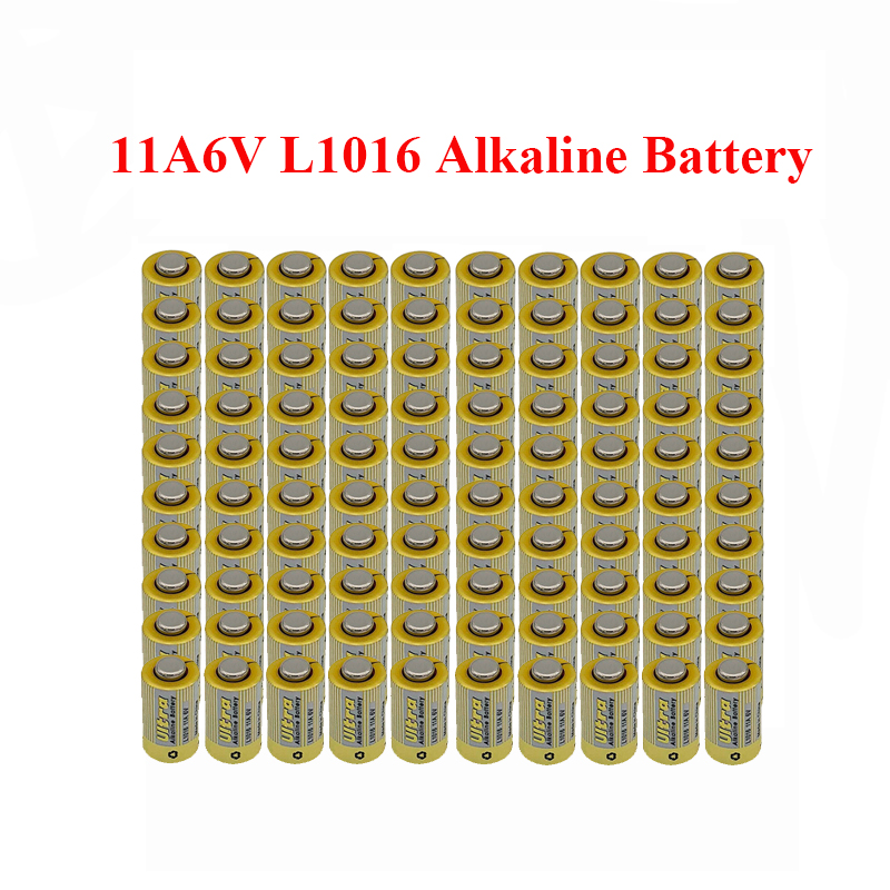 MJKAA 100 個 L1016 11A 6 1.5v アルカリ電池一次乾電池車のキーエレクトロニクスリモートコントロールドロップ船安い