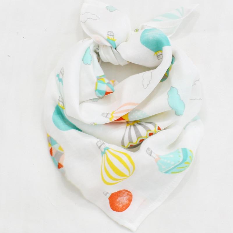 60 * 60cm muselină bambus bumbac pătură pentru bebeluși pături - Așternut - Fotografie 6