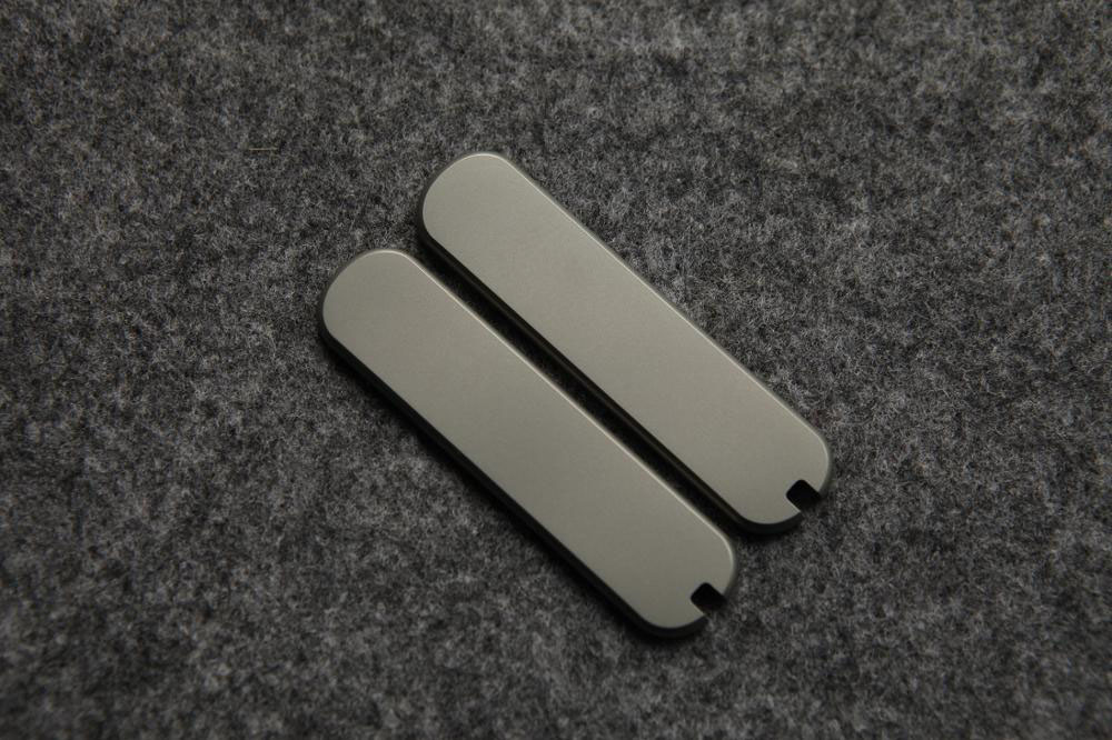 Tools : Custom Made Titanium Alloy TC4 Saber Knife Replacement Scale for 65mm Victorinox  Swiss Army  Knife DIY Mod