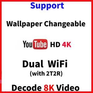 Image 4 - RGB Light Amlogic S905X3 Smart TV Box Android 9.0 4GB RAM 64GB ROM A95X F3 Max Support 8K Flex Media Player OTA Dual Wifi 2/16G