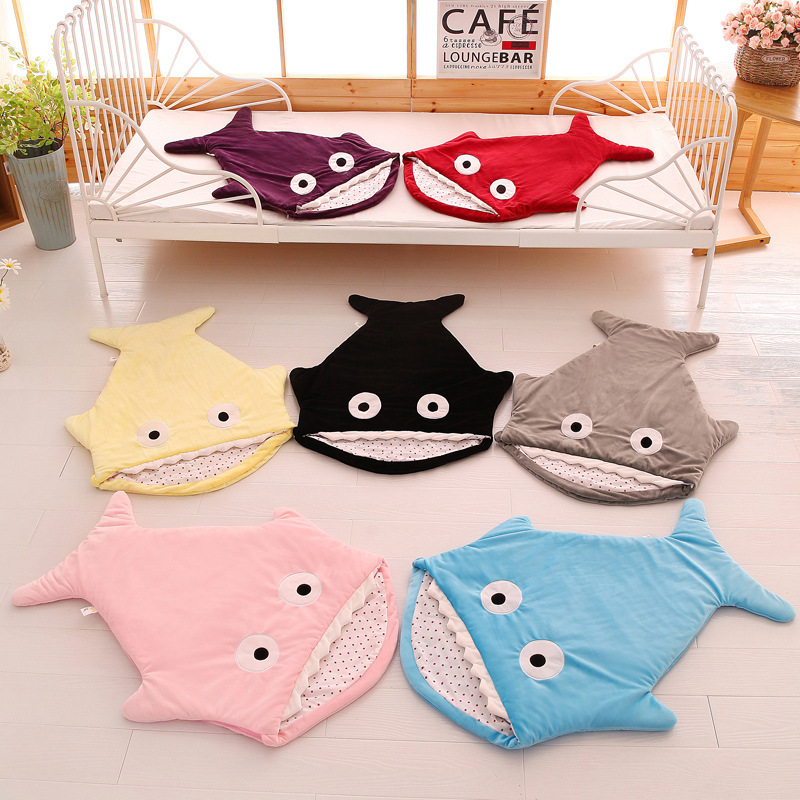 Image 2 - Newborn sleeping Wrap Bag kick proof cartoon baby child baby Soft Sleeping Blankets Boy Girl Swaddle baby bathrobe 0 16M-in Blanket & Swaddling from Mother & Kids