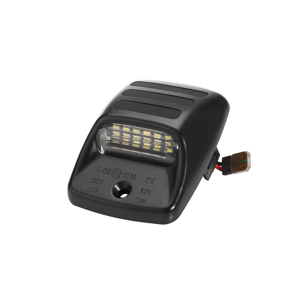 2 قطع LED عدد لوحة ترخيص ضوء سيارة خالية من الخطأ لوحة ترخيص مصابيح أحمر أبيض لتويوتا تاكوما لتويوتا تندرا 05-15