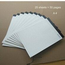 A4 размер банка бумажный блокнот memo pad записная книжка записка pad листов тетрадь для записей состав, офисные школьные принадлежности, блокноты в 1113