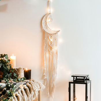 Macrame Wall Hanging Handmade Bohemian Chic Woven Tapestry Home Art Decor 1