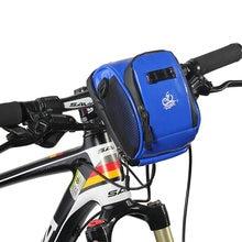 Водонепроницаемая велосипедная сумка на руль вместительный Многофункциональный