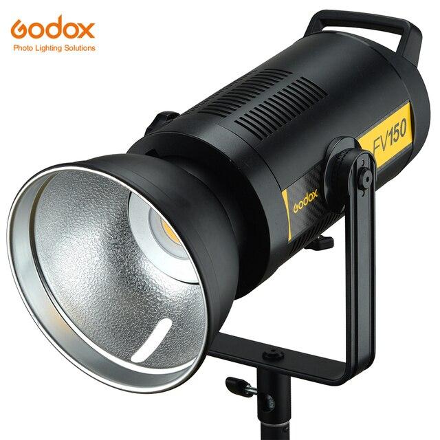 Godox FV150 150 ワット高速同期フラッシュ Led ライト in 内蔵した 2.4 グラムワイヤレス受信機 + リモートキヤノンニコン