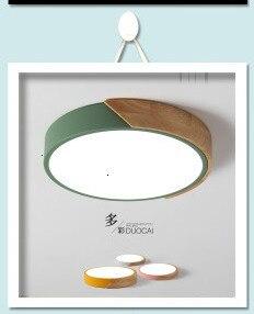 round macaron cor lustre luminárias
