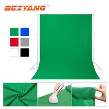 Foto backdrops tela verde chromakey fotografia pano de fundo de algodão para estúdio de fotos