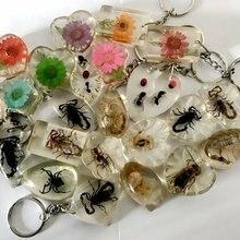 Venda 12 pçs misturado moda inseto flor estilo chaveiro