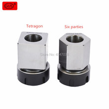 1PCS ER40 ER32 ER25 Square Collet Chuck Holder Mayitr Block For Lathe Engraving Machine стоимость