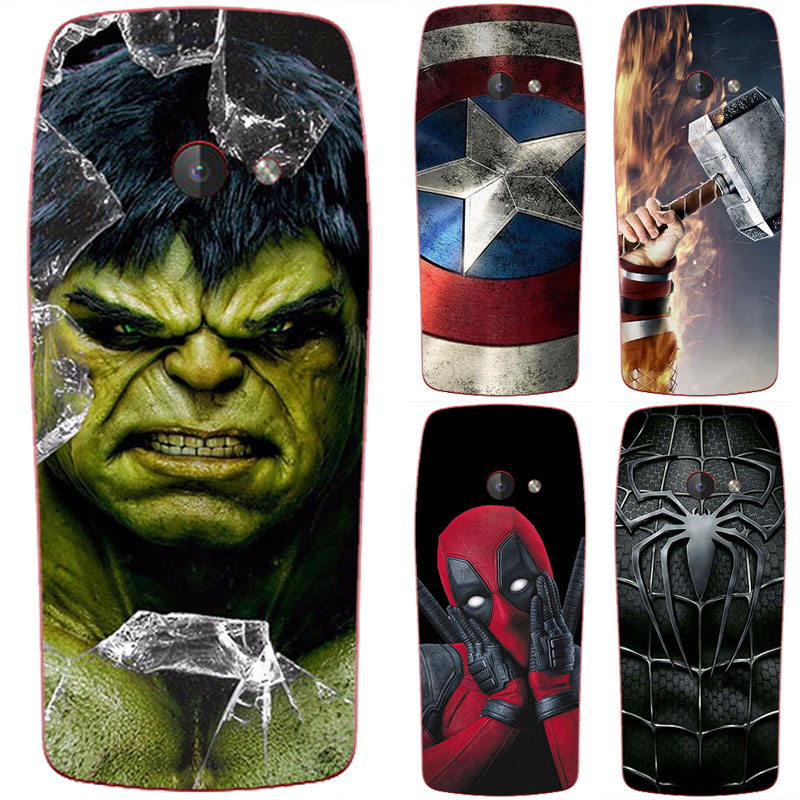 Superhero Phone <font><b>Case</b></font> Cover For <font><b>Nokia</b></font> <font><b>210</b></font> 2019 TA-1139 2.4